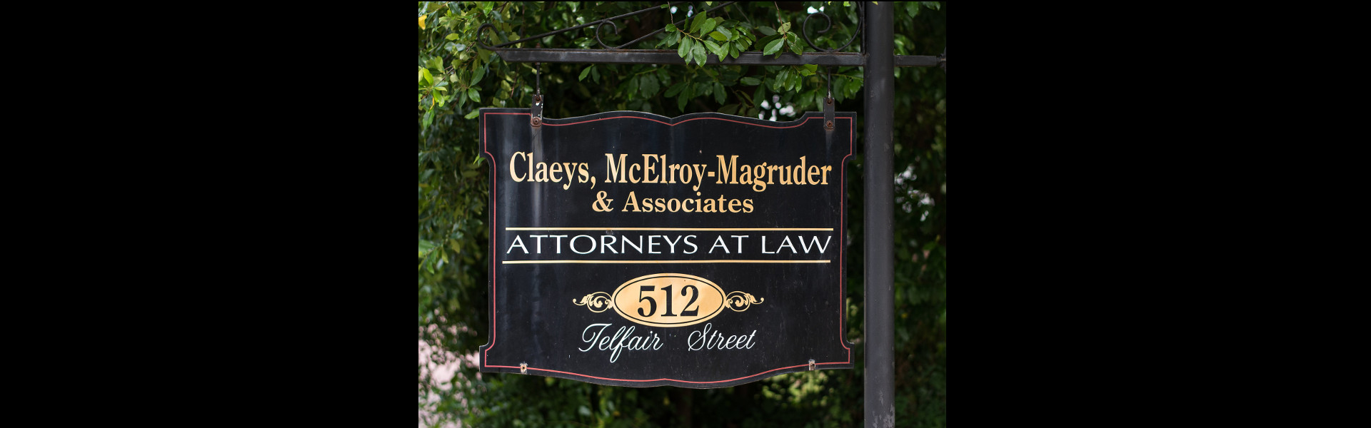Sign for Bankruptcy Attorneys - Augusta. Dublin, Statesboro | Claeys, McElroy-Magruder & Kitchens